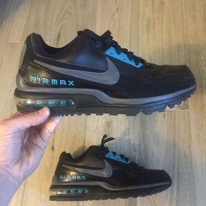 Men's Nike Air Max Sneakers Black, Grey, Teal